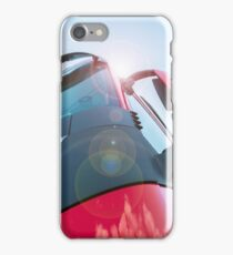 Large truck details against blue sky iPhone Case/Skin