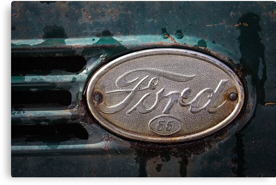 Ford 85 Emblem by tiredtim