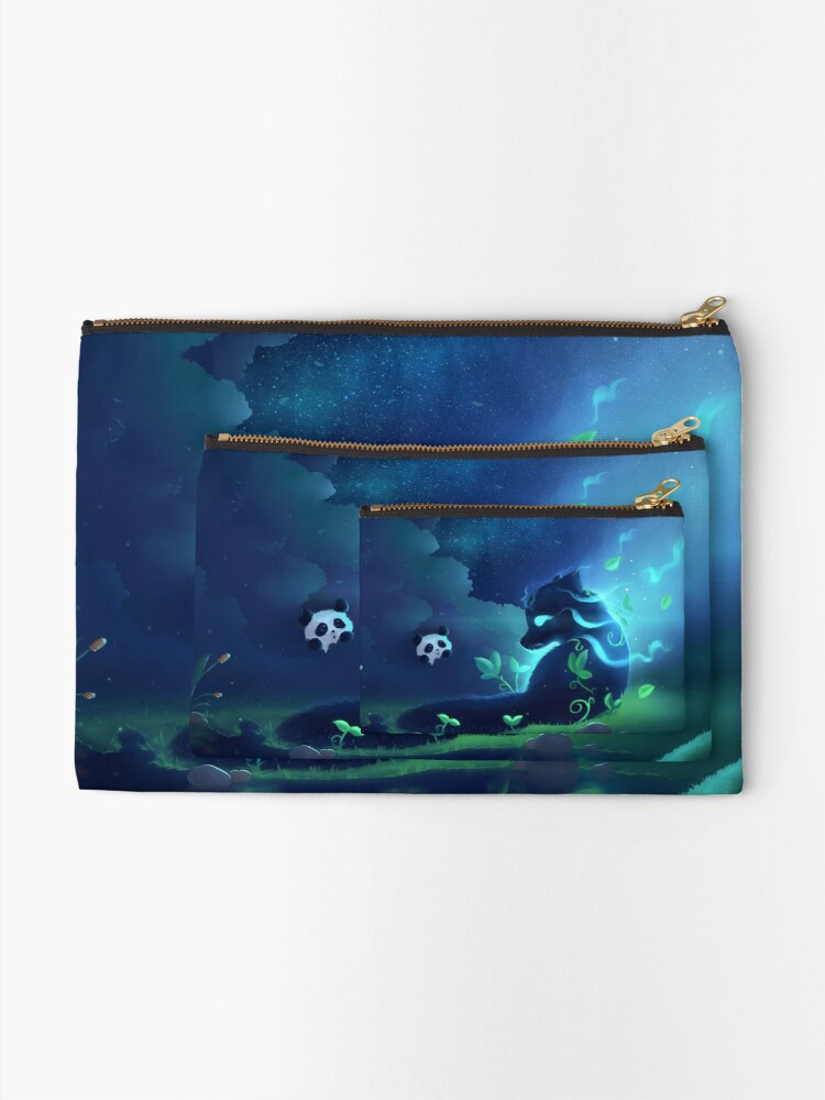 Alternate view of Forest spirit Zipper Pouch