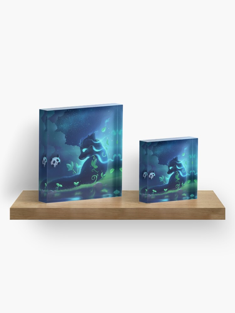 Alternate view of Forest spirit Acrylic Block