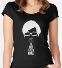 The best is yet to come from Kojima - Black Edition  Women's Fitted Scoop T-Shirt