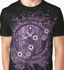 Zelda Majora's Mask Clock  Graphic T-Shirt
