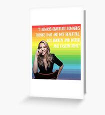 Kate McKinnon #3 Greeting Card