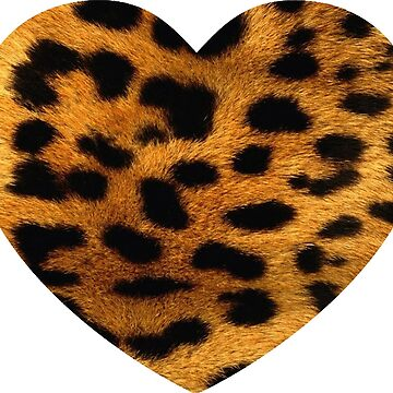 Leopard Big Heart by dohcom