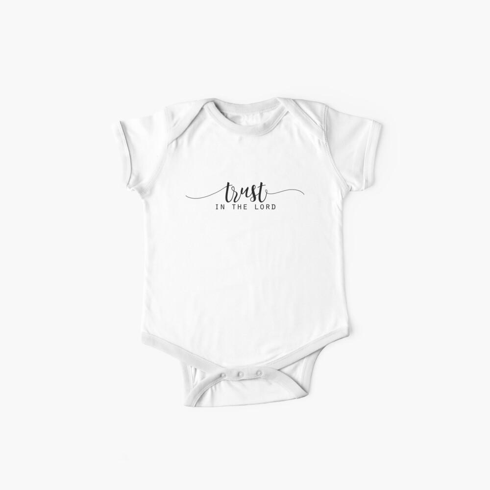 Christliches Zitat Baby Body