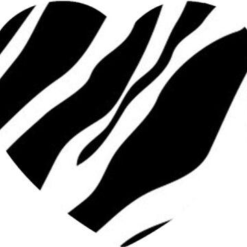 Zebra Hearts by dohcom