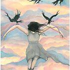 Birds Fly Over by Litza Bixler