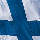 Waving Flag of Finland From 2014 Winter Olympics by pjwuebker