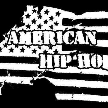 American Hip Hop (White) by kassette