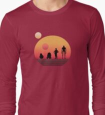 Star Wars Droids Long Sleeve T-Shirt