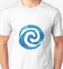 Swirl Inspired Silhouette Unisex T-Shirt