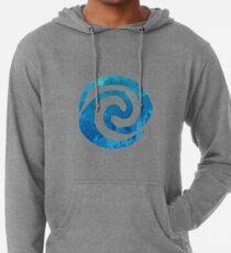 Swirl Inspired Silhouette Lightweight Hoodie