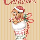 Christmas Stocking Series: Puppy by LCWaterworth
