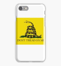 Dont tread on me iPhone Case/Skin