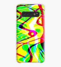 waterforms yellowgreen Case/Skin for Samsung Galaxy