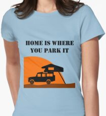 Home Is - Defender 110 - Roof Tent T-Shirt