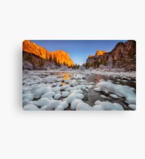 Gates to the Valley Canvas Print
