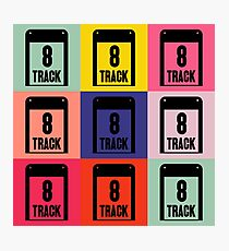 8 Track Pop Art T-Shirt 2 Photographic Print