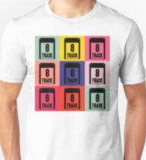 8 Track Pop Art T-Shirt 2 T-Shirt