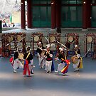 Nongak, Traditional Korean music performed by farmers  by jihyelee