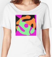 Abstract 45 Record Holder Women's Relaxed Fit T-Shirt