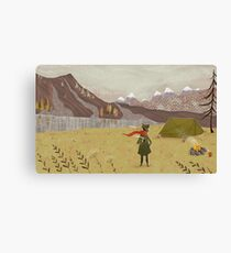 far away from the Moomin valley  Canvas Print