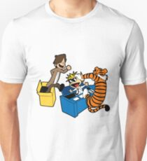 Doctor Who and Hobbes T-Shirt