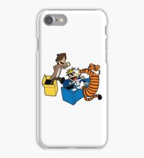Doctor Who and Hobbes iPhone Case/Skin