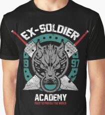 Ex-Soldier Academy Graphic T-Shirt