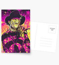 Neon Horror: Freddy  Postcards