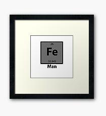 Iron Man Pun Framed Print