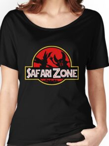 Jurassic Park - Safari Zone Women's Relaxed Fit T-Shirt