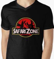 Jurassic Park - Safari Zone Men's V-Neck T-Shirt