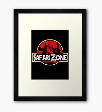 Jurassic Park - Safari Zone Framed Print