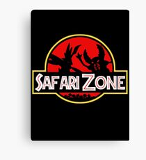 Jurassic Park - Safari Zone Canvas Print