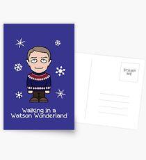 Sherlock Christmas card: Watson Wonderland Postcards