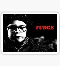 Fudge Sticker
