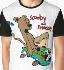 Scooby and Hobbes Graphic T-Shirt