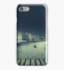 Fineart retro image Venice, Italy. iPhone Case/Skin