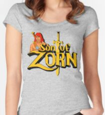 Son of Zorn - Vintage distressed Women's Fitted Scoop T-Shirt