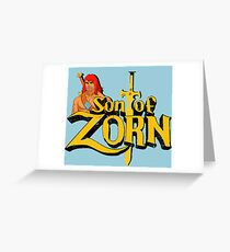 Son of Zorn - Vintage distressed Greeting Card