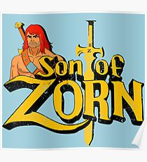 Son of Zorn - Vintage distressed Poster