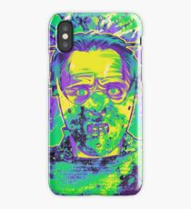 Neon Horror: Hannibal  iPhone Case/Skin