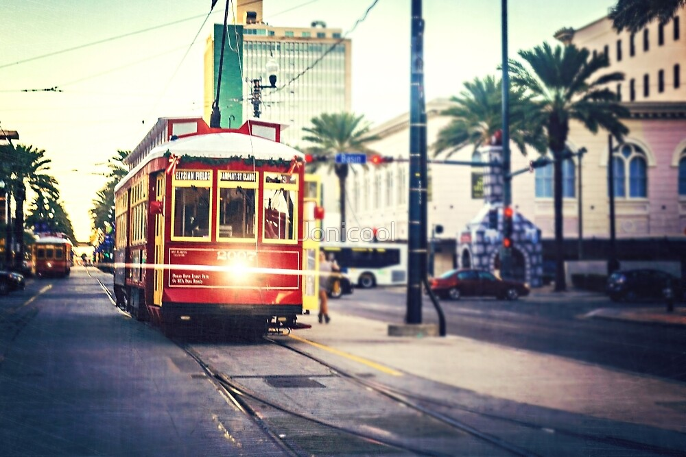 New Orleans Streetcar by Jonicool