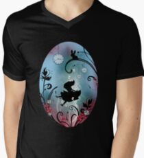 Alice in Wonderland - Rosebush Men's V-Neck T-Shirt