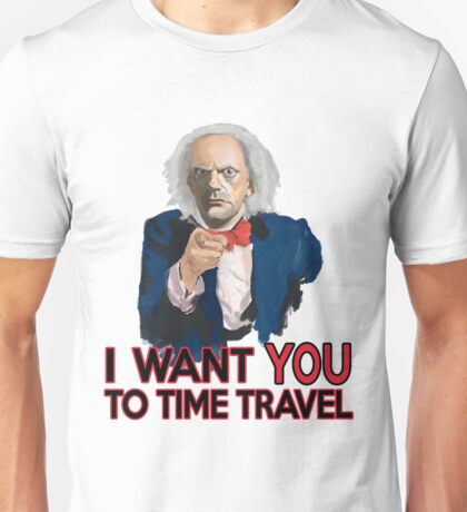 Doc Brown Wants You Unisex T-Shirt