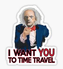 Doc Brown Wants You Sticker