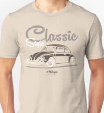 Classic Style. VW Beetle (brown) T-Shirt