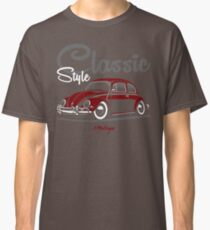 Classic Style. Beetle (red) Classic T-Shirt