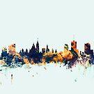 Ottawa Canada Skyline by Michael Tompsett
